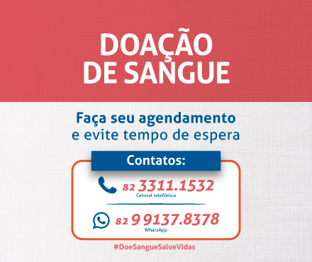 Agendamento Banco de Sangue